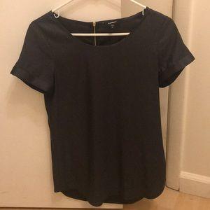 Express dark gray short sleeve t-shirt size XS